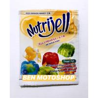 Nutrijell Mangga 15g 15gr 15 g gr gram - Nutri Jell Mango Kuning Box