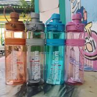 botol minum sport 700 ml custom logo - Merah Muda