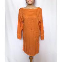 baju atasan muslim wanita bali tipis adem rajut blouse tangan panjang