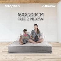 KASUR SPRING BED INTHEBOX QUEEN 160x200