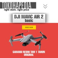 NEW DJI Mavic Air 2 BASIC Garansi Resmi TAM