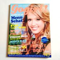 Majalah GOGIRL No.15 Apr 2006 Cover JESSICA ALBA