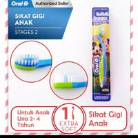 sikat gigi anak oral b stages 2