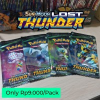 Kartu Sun & Moon Series New Collection ; Pokemon Trading Card Game