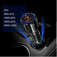 BERGARANSI car charger Qualcomm 3.1A casan mobil fast charging