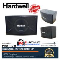 Speaker Pasif Karaoke HARDWELL PRO 10 II PRO10II Harga 1 Set ORIGINAL
