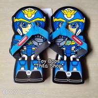 Sandal Lucu Anak Cowok Karakter Kartun SuperHero ROBOT SANCU Murah