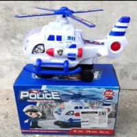 mainan helicopter polisi/mainan anak