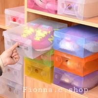 BOX serbaguna transparan/Kotak sepatu transparan