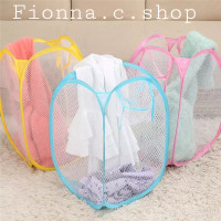 Keranjang pakaian kotor polos warna warni/Laundry basket