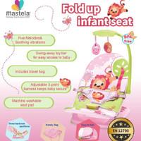 Mastela Infant Seat with Hanger Toy and travelbag, Kursi Bayi 3 posisi