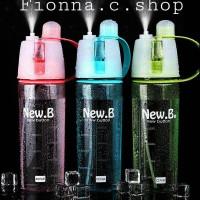Botol minum uap New B/Spray water bottle