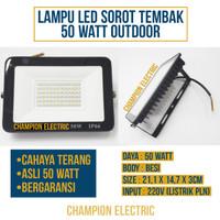 Lampu LED Sorot 50W Lampu tembak 50Watt 50 W Outdoor Hemat bergaransi