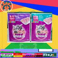 Whiskas Sachet Junior 85 gram / makanan kucing basah pouch sachet