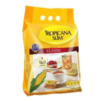 Gula Tropicana Slim Clasic (160 Sachet) Gula Pemanis Rendah Kalori