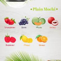 plain mochi topping ice cream frozen yogurt dessert cemilan sehat anak