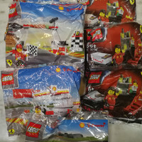 Lego Shell Ferrari Spiderman Star Wars Polybag Original baru sealed