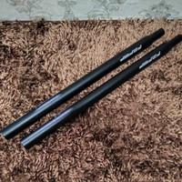 Seatpost Tiang Sadel 31.8 x 530mm Alloy Sepeda Lipat Seli not Litepro