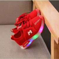 sepatu LED anak tri