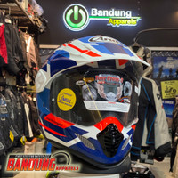 Helmet Arai Tour Cross 3 Depart Blue Original Japan Supermoto Helm
