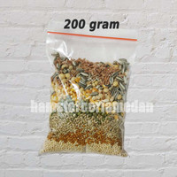 Pakan / makanan hamster biji-bijian lokal 200 gram