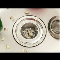 Saringan Air Filter Air Wastafel Jala Halus Stainless Sink Filter