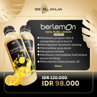 Berlemon Pure Lemon 500ml /Sari Lemon/ Lemon / Concentrate Lemon