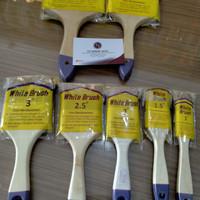 kuas cat 2 inch homecare avian - white brush - bukan eterna