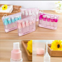 Set Botol Tempat Sabun Shampo Lotion Hand Sanitizer 5 in 1 Travel Kit - Tosca