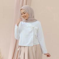 Hanbok Casual Top White
