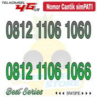 Nomor Cantik Simpati telkomsel 4G LTE seri 106