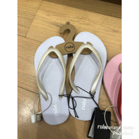 Rubi Thong Color White Sandal Jepit
