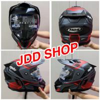 Helm MDS Supermoto HELM MDS Super Pro double visor SNI