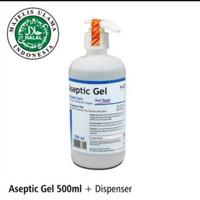 Aseptic Gel Onemed Pump 500ml
