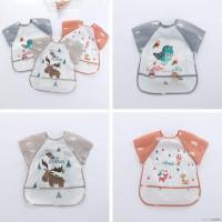 Bibs/ slabber/ celemek anak bayi - waterproof model baju