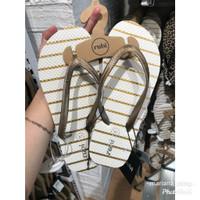 Rubi Thong Glitter Stripe Sandal Jepit