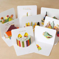 Kartu Ucapan Pop Up 3D - Kartu Ucapan Ulang Tahun Bentuk Amplop