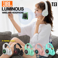 headphone bluetooth JBL macaron T13 LED - headset bluetooth