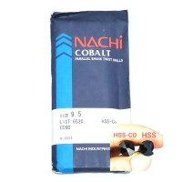 mata bor nachi hss-co twist drill 9.5mm shank drill bits hss cobalt