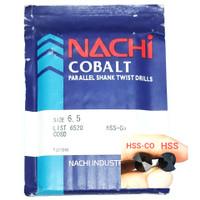 mata bor nachi hss-co twist drill 6.5mm shank drill bits hss cobalt