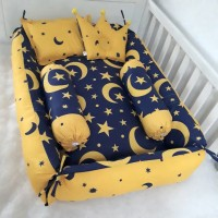 Babynest bayi-kasur set bayi-paket babynest-matras set bayi-starmoon