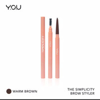 The Simplicity Brow Styler by You Makeups - Cokelat