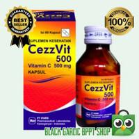 VITAMIN C 500 mg isi 60 Kapsul CEZZVIT IMMUNE BOOSTER BPOM MURAH PROMO