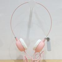 miniso headphone pink/handfree accecories handphone