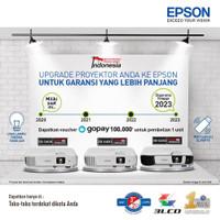 PROJECTOR EPSON EBX400-PUTIH / EBX-400 / BISA ZOOM / BERGARANSI RESMI