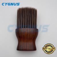 Kuas Barber Brush Premium Wood size S