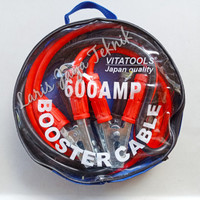 Kabel Jumper Aki / Booster Cable 600A Vitatools (Japan)