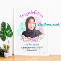 Art Frame 6R Murah (hadiah wisuda,ultah,wedding,newborn,dll)