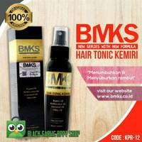 Hair Tonic Kemiri - BMKS Herbal penumbuh Rambut Solusi Kebotakan BPOM