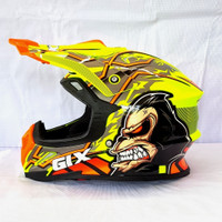 Helm Gix Cross / Gorilla / Yellow Flou